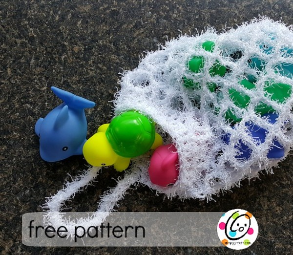 Free Pattern: Bath Scrubby Bag