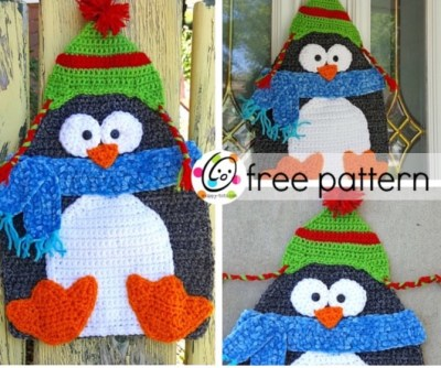 Free Pattern: Icicle Ike is ready for Christmas