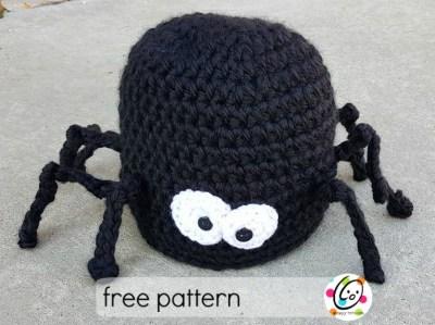 Free Pattern: Speedy Spider Beanie