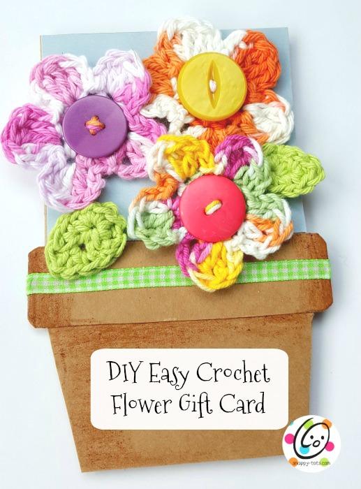 diy handmade flower card  snappy tots