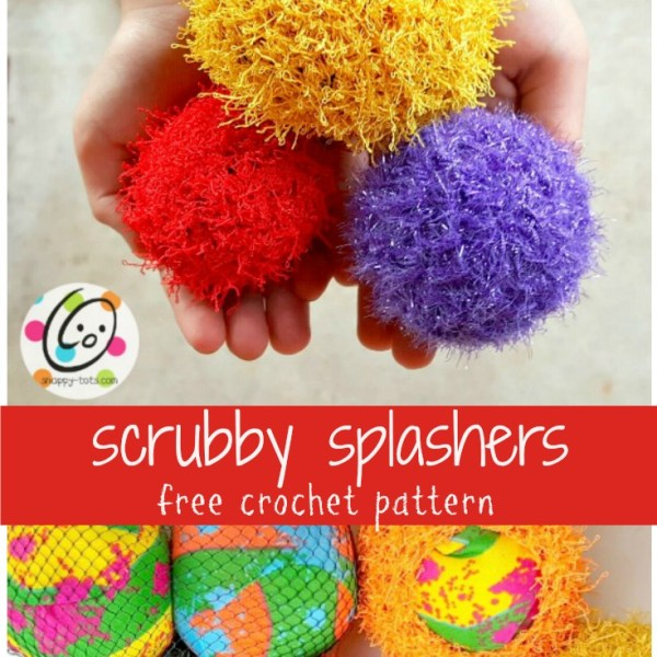 Pattern: Scrubby Splash Balls