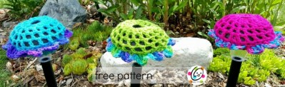 Free Pattern: Big Solar Blooms