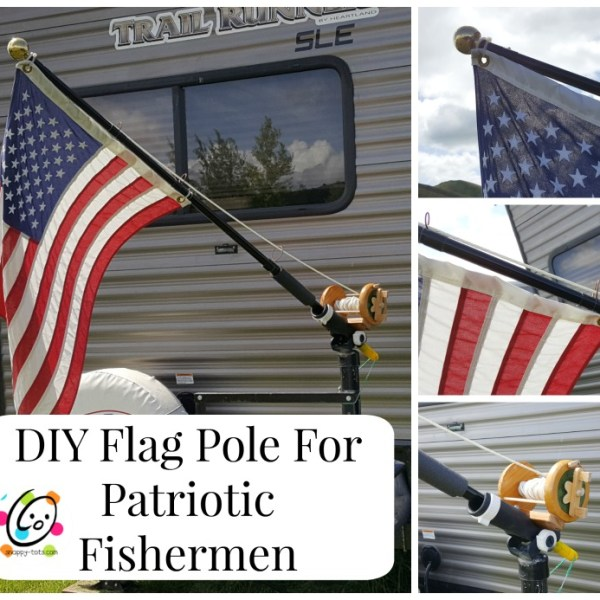 DIY: Flag Pole for Patriotic Fishermen