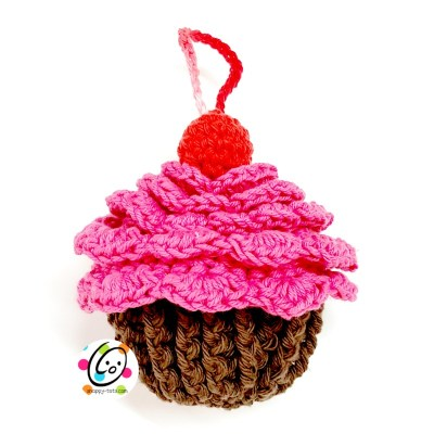 Free Pattern: Cupcake Scrubby and Mitt