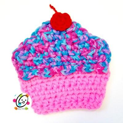 Free Pattern: Cupcake Coaster