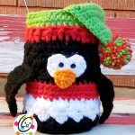 Free Pattern: Penguin Luminary