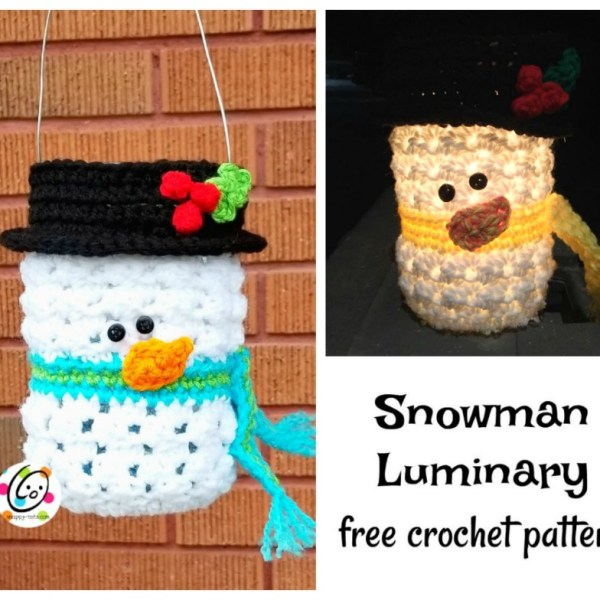 Free Pattern: Frosty Luminary