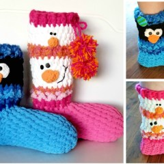 Pattern: SNOWman Boots