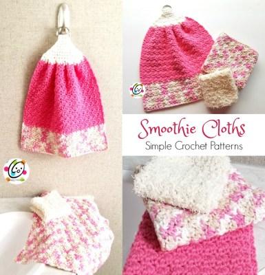 Free Pattern: Smoothie Cloth Set