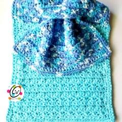 Free Pattern: Happy Hanging Towel