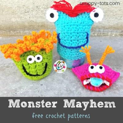 Free Patterns: Monster Mayhem