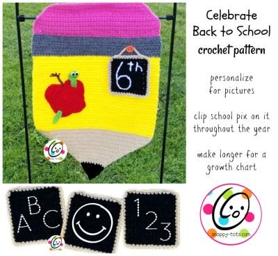 Crochet Pattern for Back to School