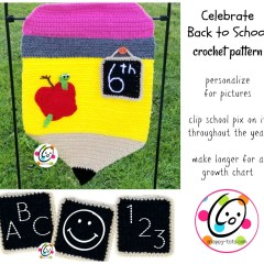 Crochet Pattern for Back to School