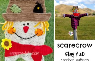 New Pattern: Crochet Scarecrow