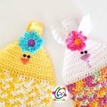Free Pattern: Spring Hanging Towel