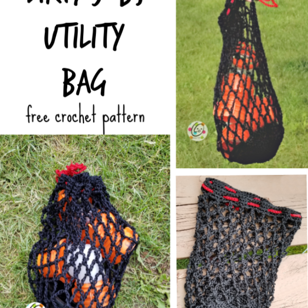 Free Pattern: Heavy Duty Utility Bag for Dirty Jobs
