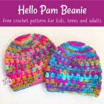 Free Pattern: Hello Pam Beanie