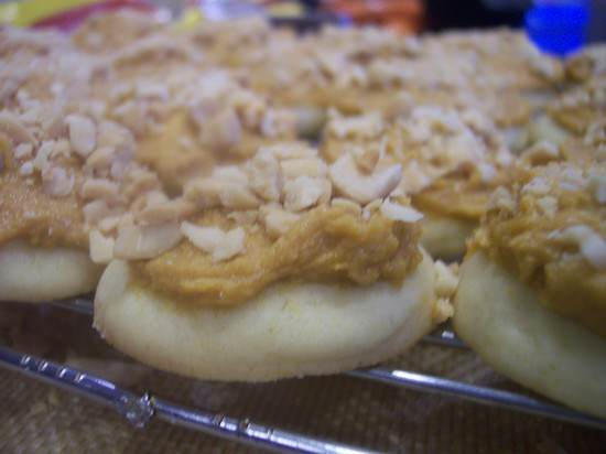 Salted Peanut Butterscotch Cookies Recipe | SnappyGourmet.com