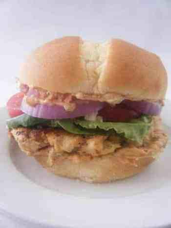 Mediterranean Chicken Burgers