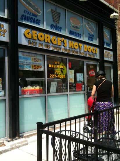 Chicago Food Tour (George's Hot Dogs)| SnappyGourmet.com