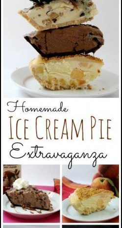 Homemade Ice Cream Pie Extravaganza