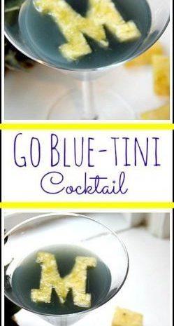Go Blue-tini
