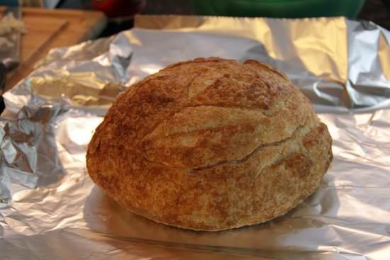 Buffalo Shrimp Bread Bowl Dip Recipe | SnappyGourmet.com