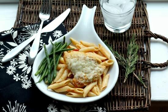 Sundried Tomato Herb Chicken & Pasta Recipe | SnappyGourmet.com