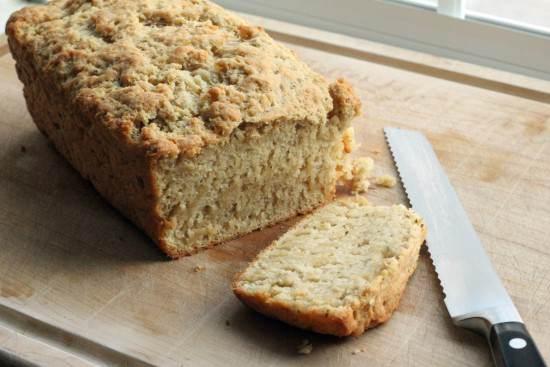 Italian Beer Bread & Sundried Tomato Butter Recipe | SnappyGourmet.com