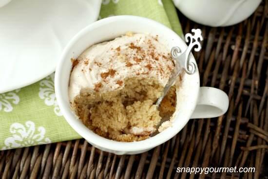 Amber Maharani Teacup Cakes Recipe | SnappyGourmet.com