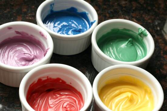 Rainbow Painted Sugar Cookies Recipes | SnappyGourmet.com