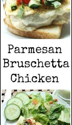 Parmesan Bruschetta Chicken - easy homemade family dinner recipe | SnappyGourmet.com