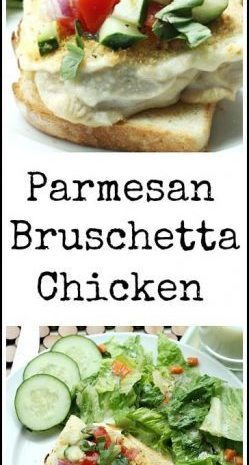Parmesan Bruschetta Chicken
