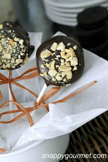 Dipped Oreo Ice Cream Pops Recipe | SnappyGourmet.com