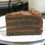Homemade Birthday Chocolate Brownie Cake Recipe - How to make a brownie cake that is rich and moist