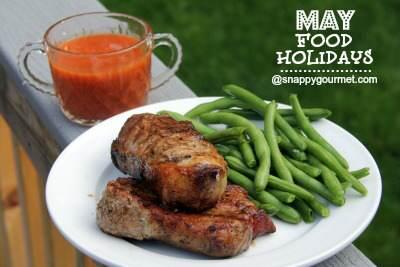 Food Holidays & Recipes (May)   SnappyGourmet.com