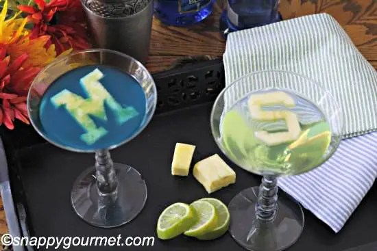 College Cocktails: Worlverinetini & Spartantini Recipes | SnappyGourmet.com