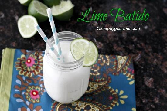 Lime Batido | Snappy Gourmet