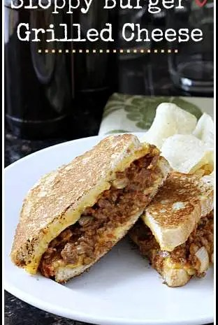 Sloppy Burger Grilled Cheese