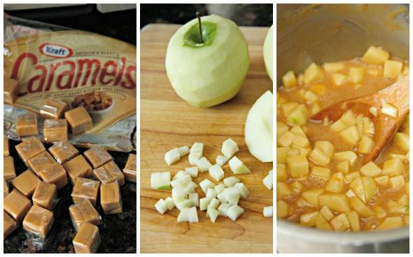 Caramel Apple Bars | snappygourmet.com