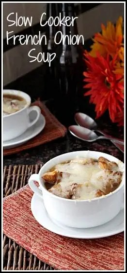 Easy Slow Cooker French Onion Soup Recipe Snappy Gourmet