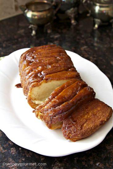 Easy Pull Apart Monkey Bread Recipe | snappygourmet.com