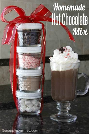 Homemade Hot Chocolate Mix Recipe Snappy Gourmet