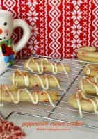 Favorite Christmas Cookies Recipes (Peppermint Cream Cookies) | snappygourmet.com