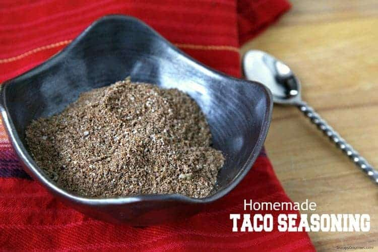 Homemade Taco Seasoning recipe - How to make taco seasoning at home