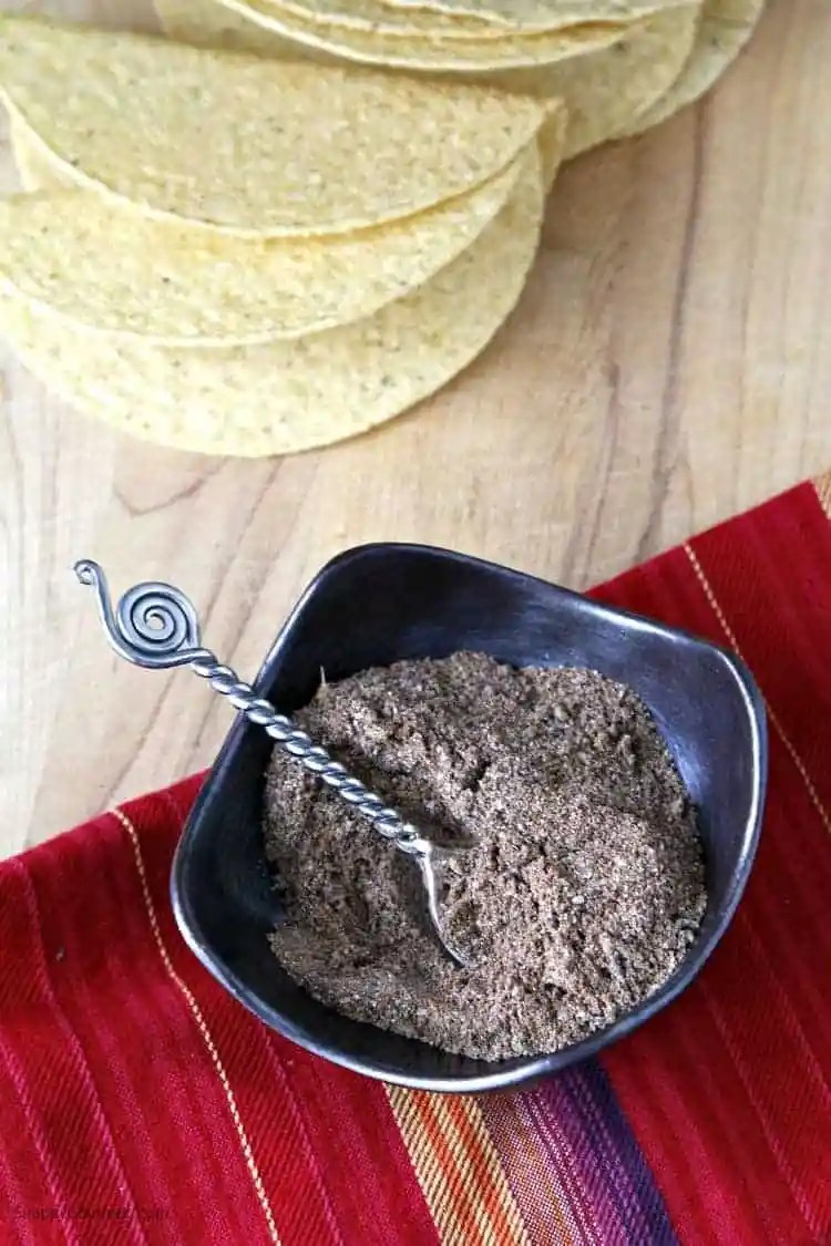 Mild Homemade Taco Seasoning recipe - easy DIY taco seasoning