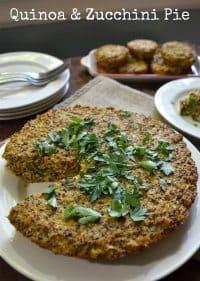 70+ Best Zucchini Recipes (Quinoa Pie Recipe)   SnappyGourmet.com