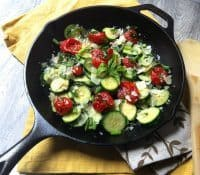 70+ Best Zucchini Recipes (Sauteed Tomato Basil and Zucchini Recipe)   SnappyGourmet.com