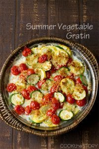 70+ Best Zucchini Recipes (Summer Squash and Zucchini Gratin Recipe) | SnappyGourmet.com
