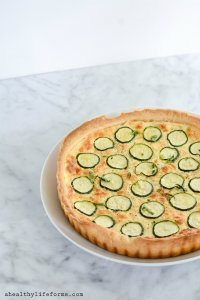 70+ Best Zucchini Recipes (Zucchini Cheese Tart Recipe) | SnappyGourmet.com
